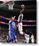 Atlanta Hawks V Philadelphia 76ers Metal Print