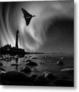 Auroral Splendour For The Vulcan Metal Print