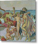 Bacchus And Ariadne, 1907 Metal Print