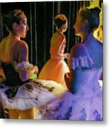 Ballerina Discussions Metal Print