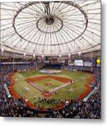 Baltimore Orioles V Tampa Bay Rays Metal Print