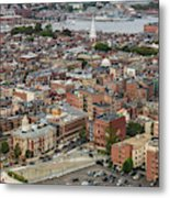Boston Government Center, North End And Harbor Metal Print