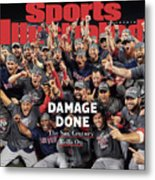 Boston Red Sox, 2018 World Series Champions Sports Illustrated Cover Metal Print