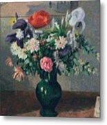 Bouquet Of Flowers, 1898 Metal Print