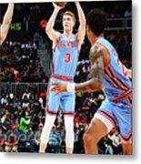 Brooklyn Nets V Atlanta Hawks Metal Print