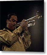 Buck Clayton Performs On Stage Metal Print