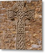 Celtic Cross Metal Print