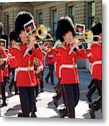 Changing Of The Guard In Ottawa Ontario Canada Metal Print
