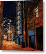 Chicago Nights Metal Print