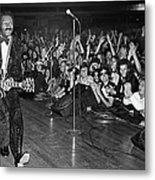 Chuck Berry In Concert At The Palladium Metal Print