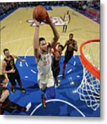 Cleveland Cavaliers V Philadelphia 76ers Metal Print