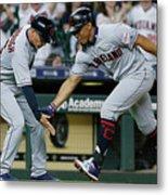 Cleveland Indians V Houston Astros 1 Metal Print