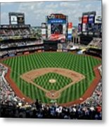 Colorado Rockies V New York Mets Metal Print