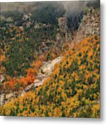 Crawford Notch Fall Foliage Metal Print