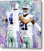 Dallas Cowboys. Metal Print
