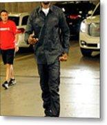Dallas Mavericks V Houston Rockets- Metal Print