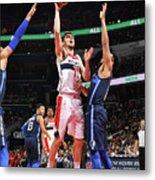 Dallas Mavericks V Washington Wizards Metal Print