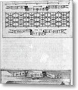 Description Of The Ark, 1675. Artist Metal Print