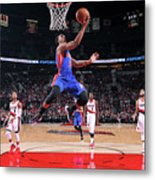 Detroit Pistons V Portland Trail Blazers Metal Print