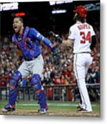 Divisional Round - Chicago Cubs V 1 Metal Print