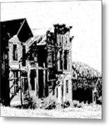 Elkhorn Ghost Town Montana Metal Print
