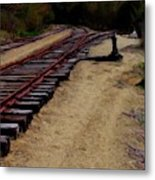 Ellsworth Tracks  Metal Print