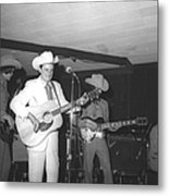 Ernest Tubb At The Palomino Metal Print