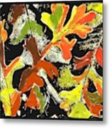 Fallen Leaves Metal Print