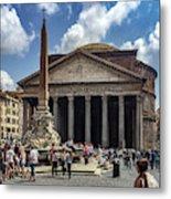 Fontana Del Pantheon Metal Print