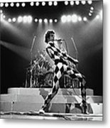 Freddie Mercury Of Queen Metal Print