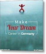 Free Study Abroad Consultant Metal Print