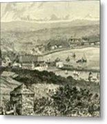 General View Of Douglas Metal Print