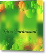 Green Environment Metal Print
