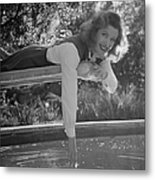 Greer Garson Metal Print