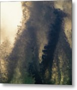 High Surf Explosion Metal Print