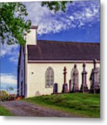 Holy Cross Cemetery And Our Lady Of Sorrows Chapel Metal Print