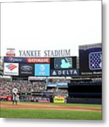 Houston Astros V New York Yankees Metal Print