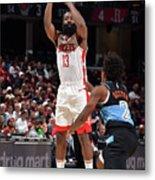 Houston Rockets V Cleveland Cavaliers Metal Print