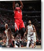 Houston Rockets V Cleveland Cavaliers Metal Print