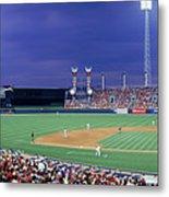 Houston V Reds Metal Print