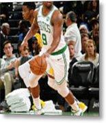 Indiana Pacers V Boston Celtics Metal Print