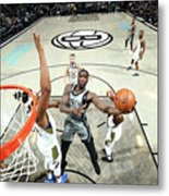 Indiana Pacers V Brooklyn Nets Metal Print