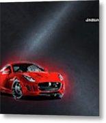 Jaguar F-type Metal Print