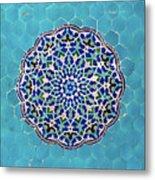 Jameh Mosque, Yazd, Iran Metal Print