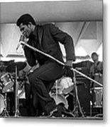 James Brown At Newport Jazz Festival Metal Print
