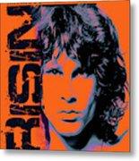 Jim Morrison, The Doors Metal Print