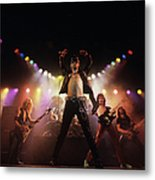 Judas Priest Album Cover Shoot Metal Print