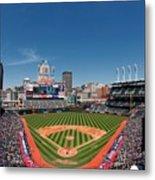 Kansas City Royals V Cleveland Indians Metal Print