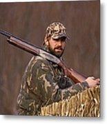 Kirk Gibson Goes Duck Hunting Metal Print