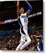 La Clippers V Orlando Magic Metal Print